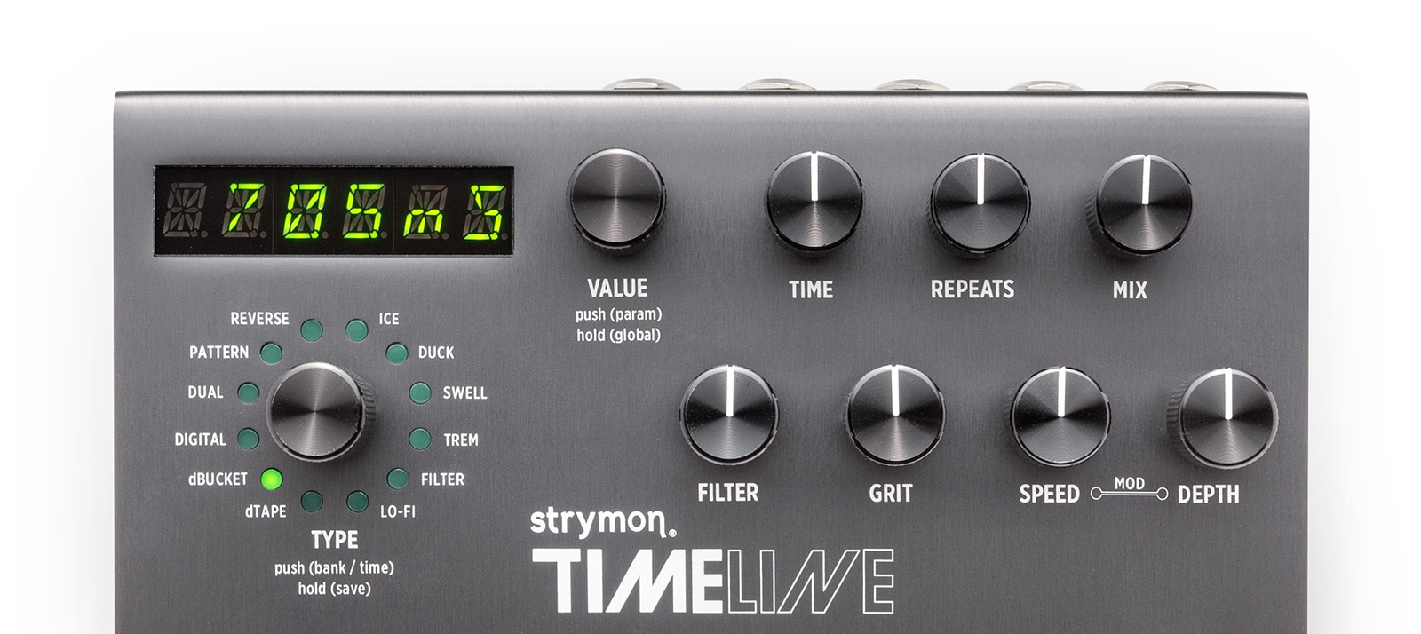 TimeLine Multidimensional Delay