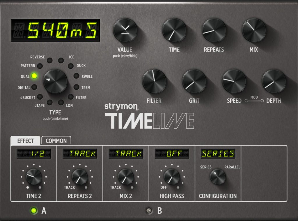 Guitarist Killian Gavin Strymon TimeLine Preset