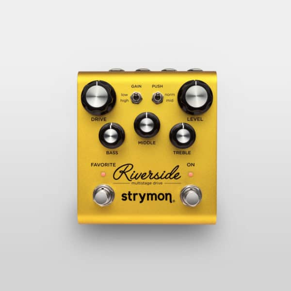 Strymon Riverside multistage drive overdrive pedal