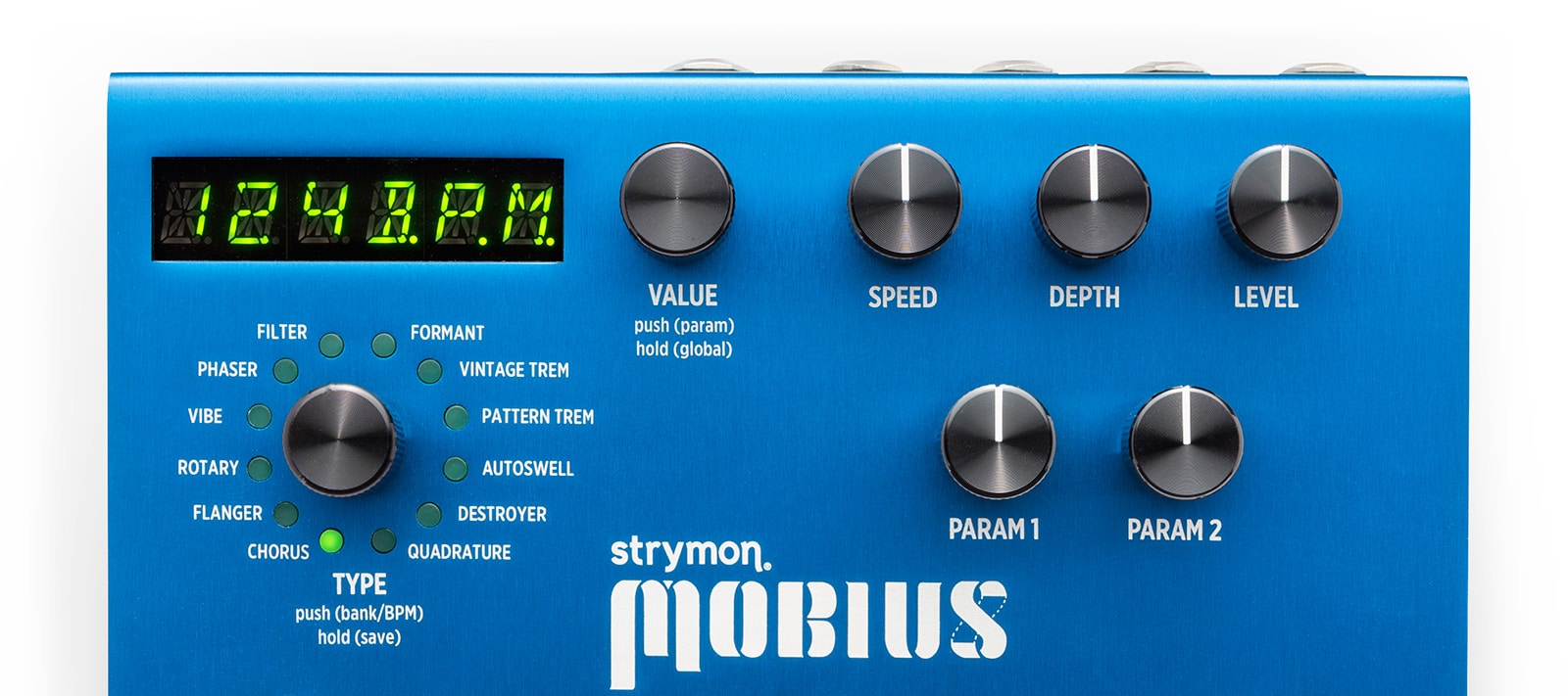 Mobius Modulation Multi-Effect Pedal