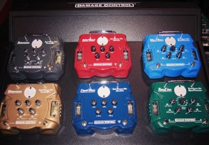 Damage Control pedals at NAMM 2007