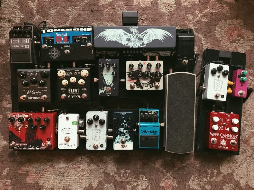 Scott Mills Pedalboard Colony House