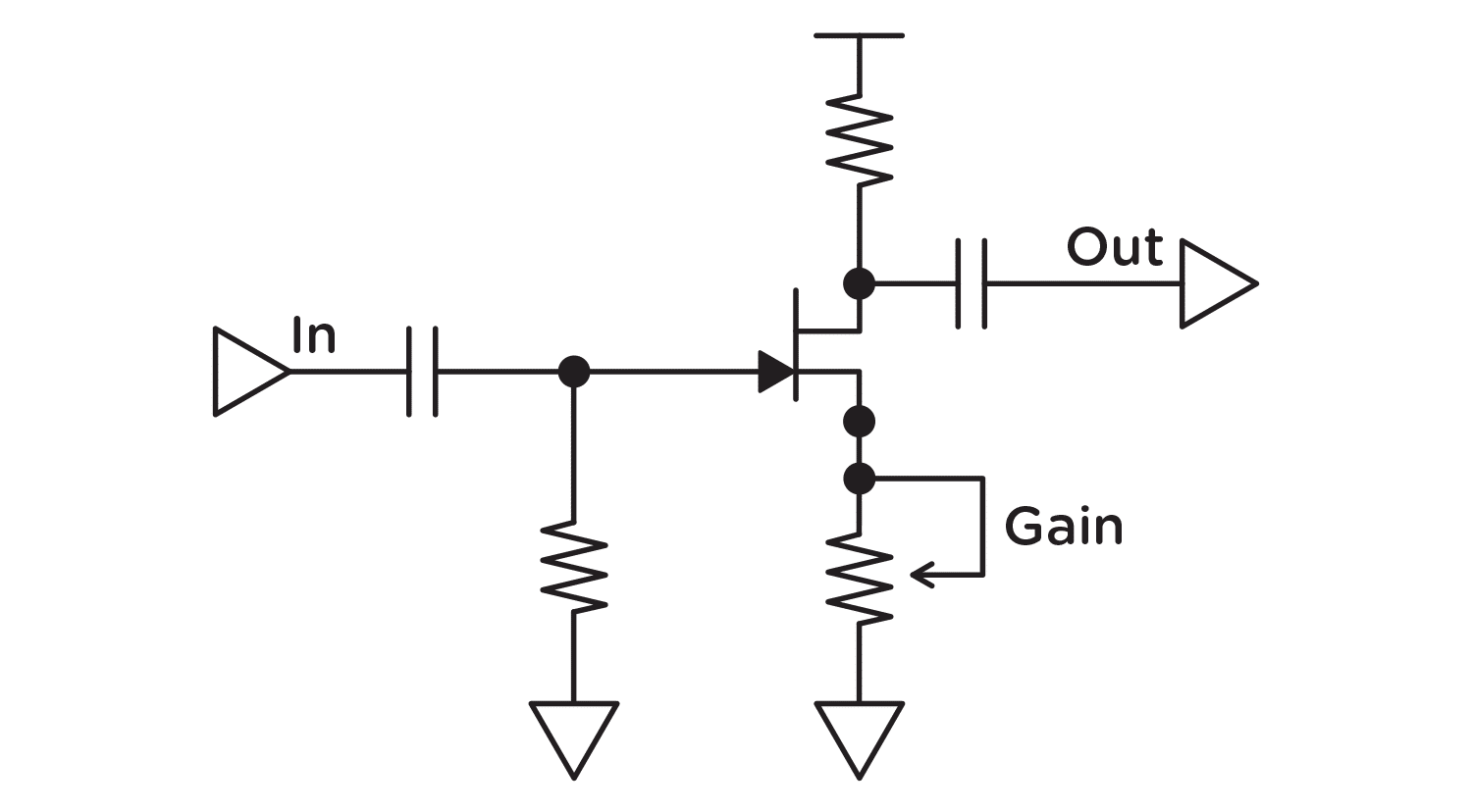 Single Stage And Multistage Gain Topologies Sunset Riverside Touch Switch Using Fet Whitepaper 1of6