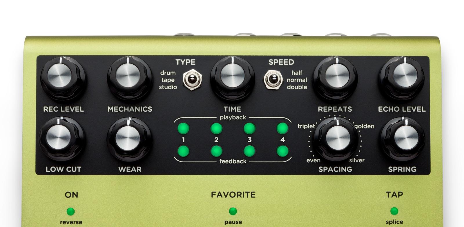 Volante - Magnetic Echo Machine - Drum Delay Pedal