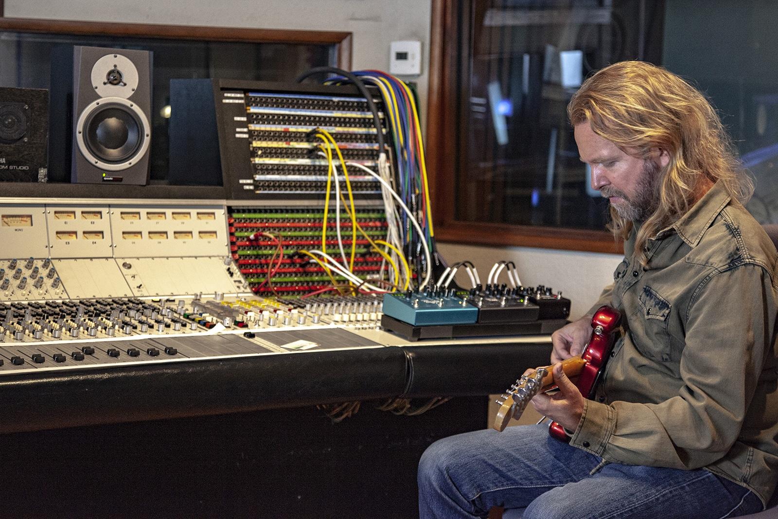 Strymon Iridium amp & IR cab in studio