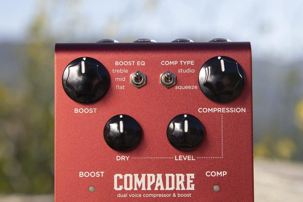 Strymon Compadre Dual Voice Compressor & Clean Boost