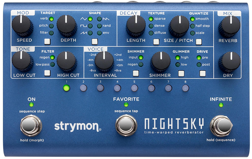NightSky knobs and switches